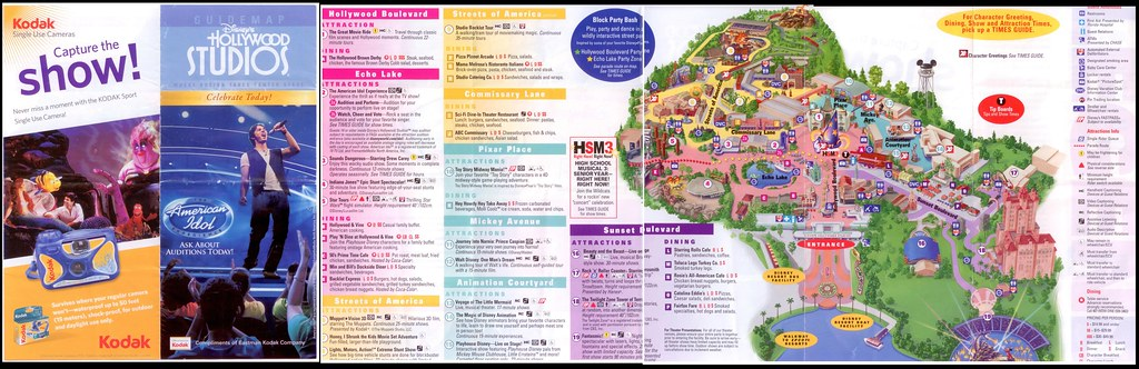 Map of Hollywood Studios, March 2010 | From a scan of an act… | Flickr