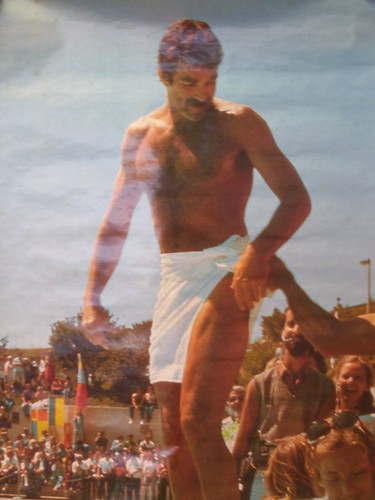 Tom Selleck Poster   Ink found this poster at at garage ...