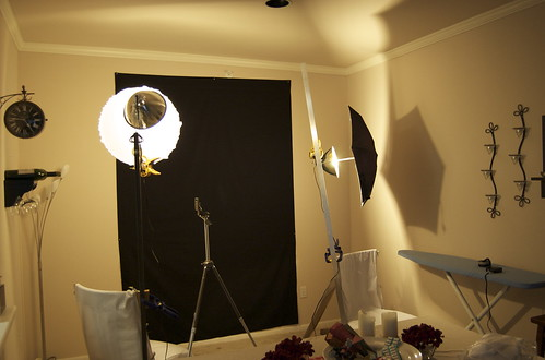 how to make a home video studio cheap