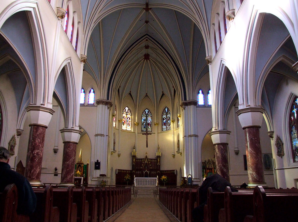 Holy Rosary Cathedral Vancouver Built In 1900 As A