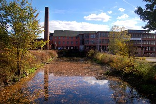 Stanley Woolen Mill and Canal | by Thee E. Aldriches