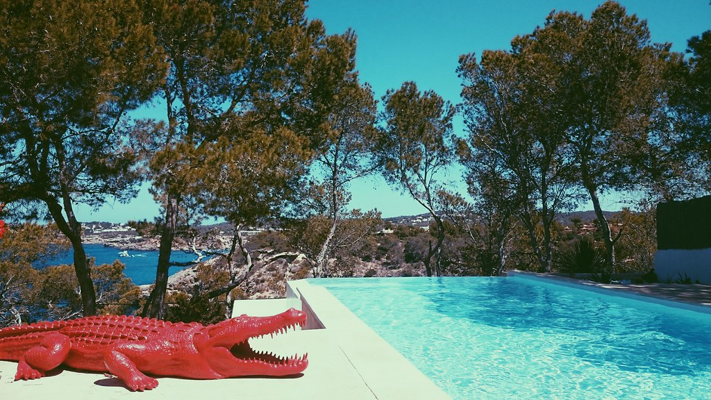 Ibiza pool Sant Josep Cala Moli
