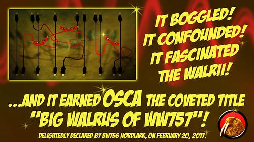 WW756 Certificate for Osca