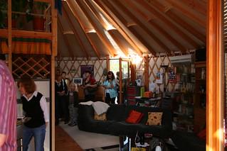 yourte d 39 habitation 060 yourte contemporaine de 68 m us flickr. Black Bedroom Furniture Sets. Home Design Ideas