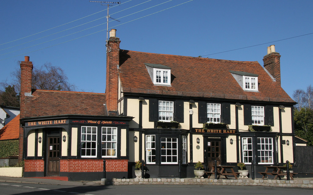 The White Hart, Hockley, Essex, England | My local, at the ...