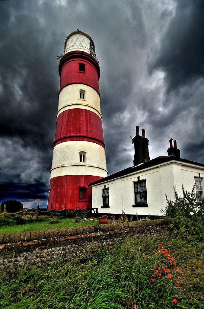 Happisburgh Lighthouse - Norfolk | Artizen HDR Lock05 Two ...