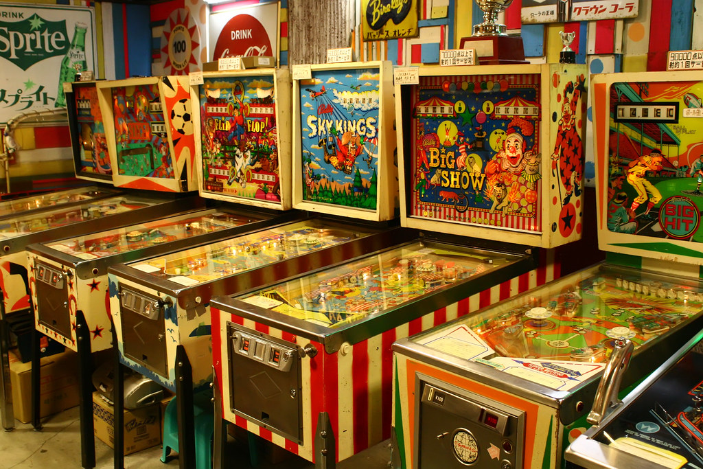 Image result for vintage pinball machines