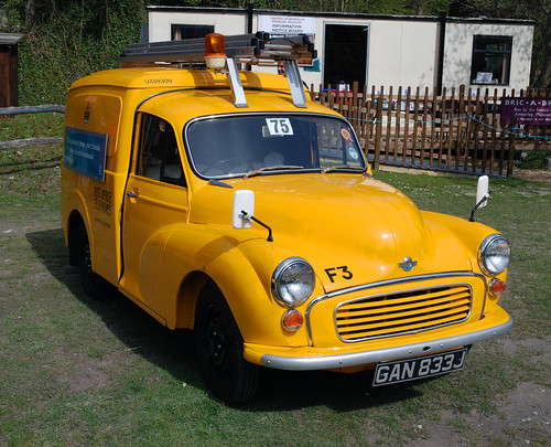 Morris Minor van | by allenthepostman