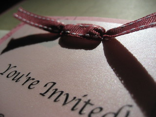 Simple Invitation: May 15, 2008 | by SummerTX