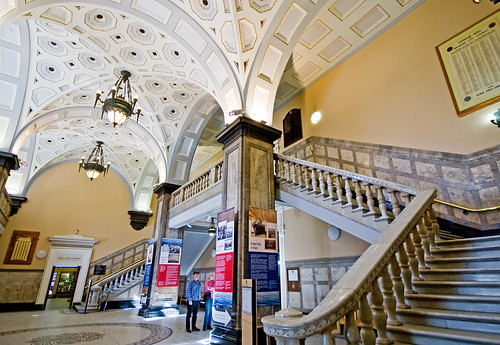 Foyer Stairs Qld : Foyer stairs the main of brisbane s city hall