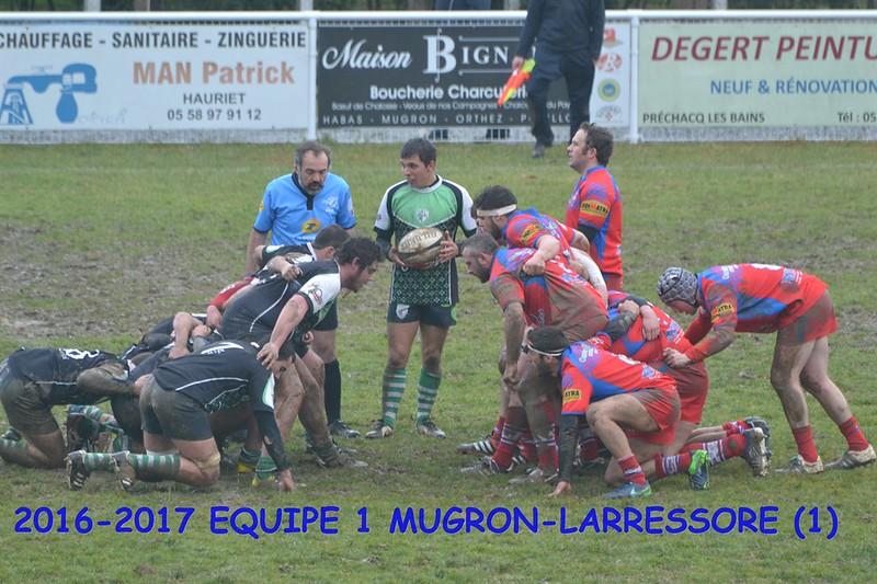 2016-2017 EQUIPE 1 MUGRON-LARRESSORE