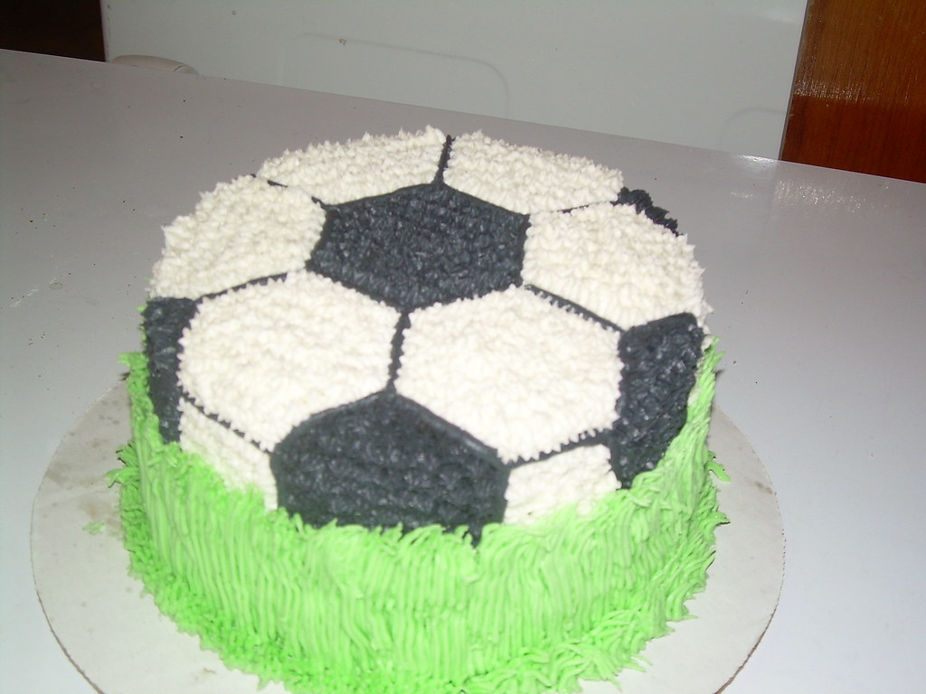 How To Make A Soccer Ball Cake Without A Pan