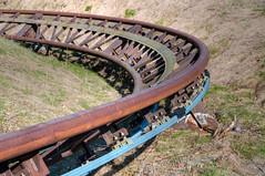 Spreepark: Rollercoaster Tracks