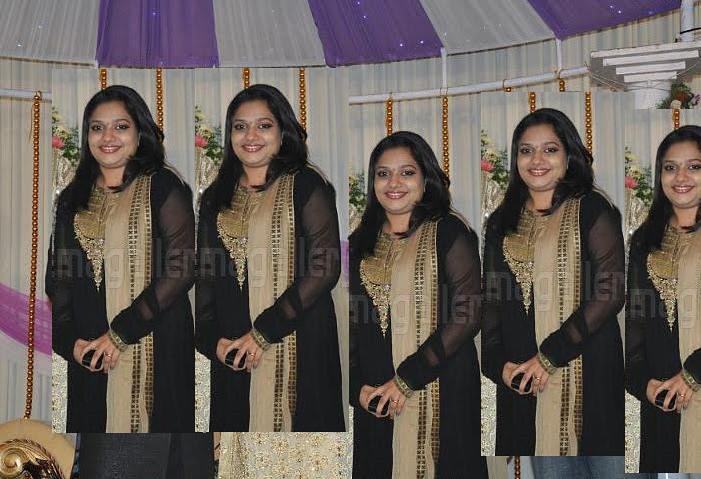 Rimi Tomy At Navya Nair Wedding Reception Party1 Flickr