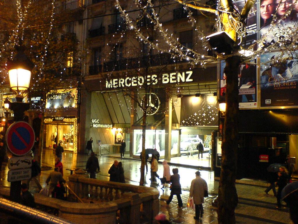 mercedes benz shop champs lys es taking it for a test dr flickr. Black Bedroom Furniture Sets. Home Design Ideas