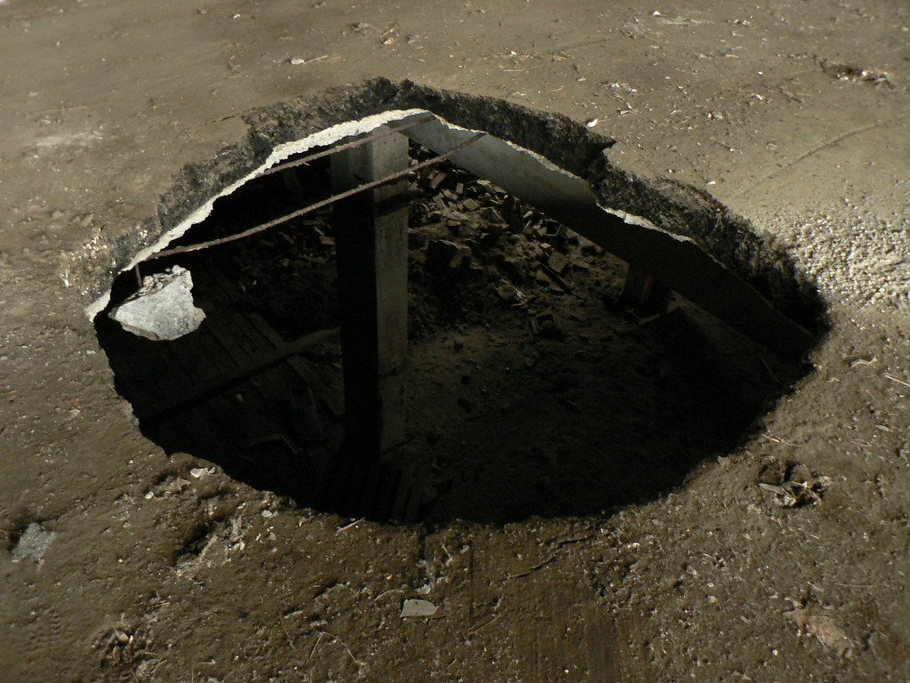 hole in the floor yikes ian westcott flickr