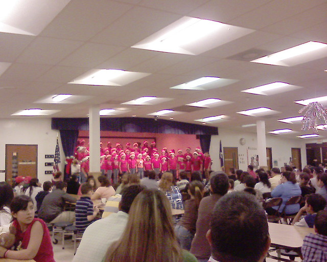 christmas program at leal elementary
