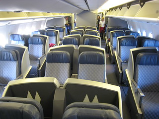 Lie flat business class seats | by Fly For Fun
