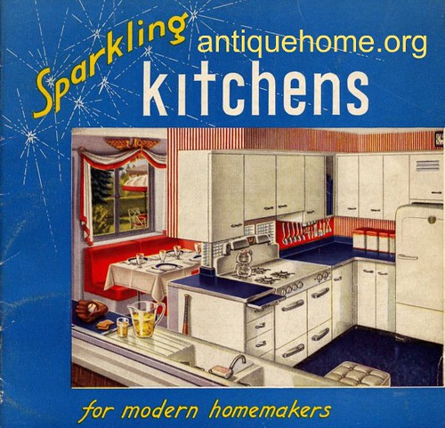 Kitchen Designs Of The 1940s And 1950