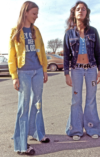 1970s blue jean patches | by FrogLuv
