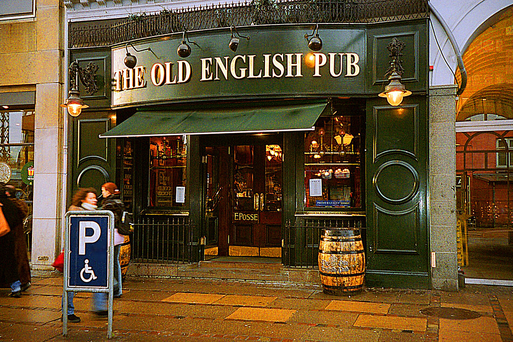 the old english pub on vesterbrogade the champs elys es o flickr. Black Bedroom Furniture Sets. Home Design Ideas
