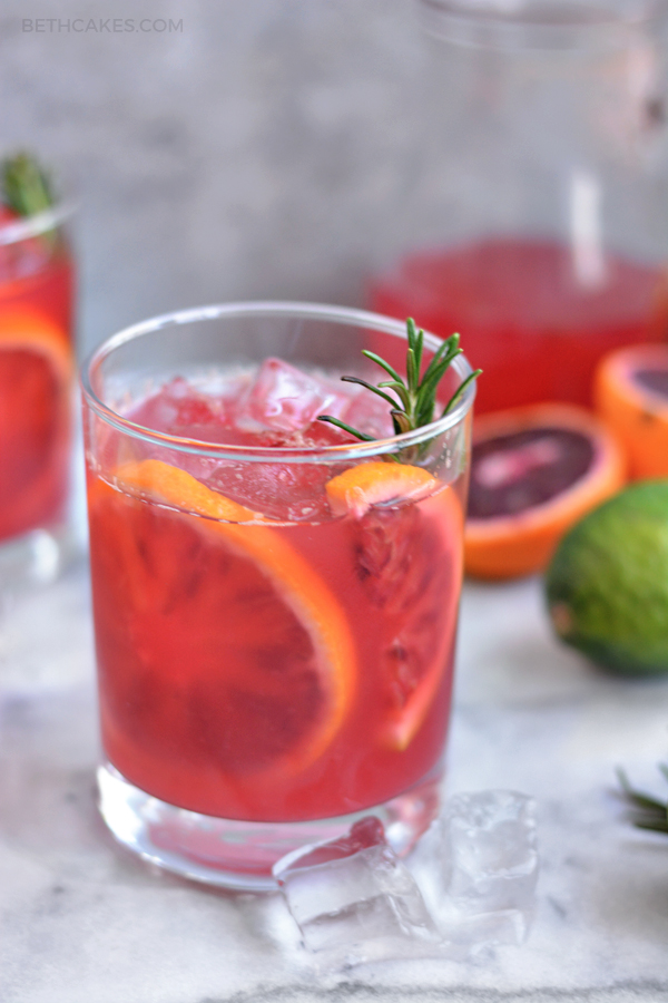 Blood Orange Palomas - bethcakes.com