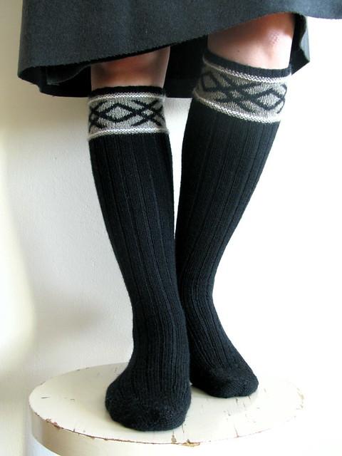 Knitting Vintage Socks Nancy Bush : Cycling or golf stockings by nancy bush pattern source