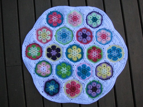 how to make a round cushion cover