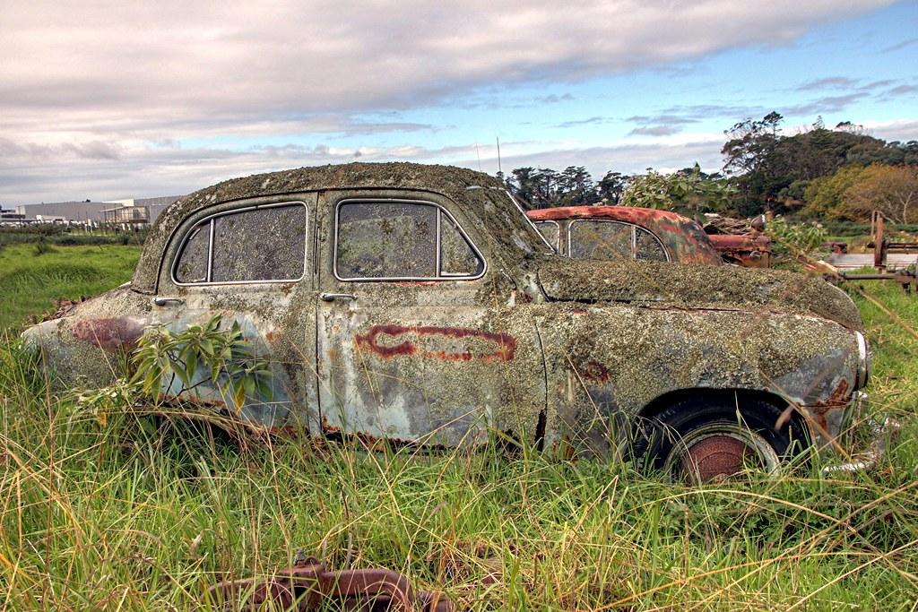 Old car, 1953-55 Standard Vanguard, New Zealand | An old Van… | Flickr