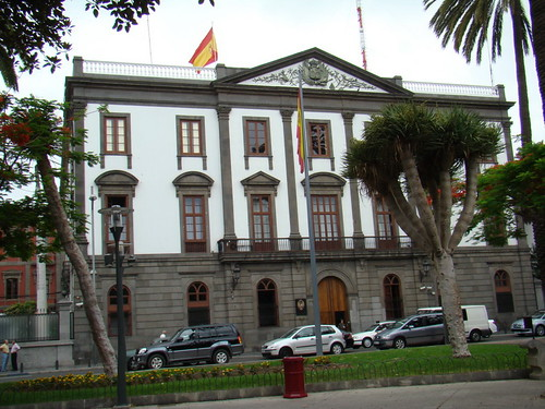Parque san telmo fachada exterior edificio gobierno milita for Gobierno exterior