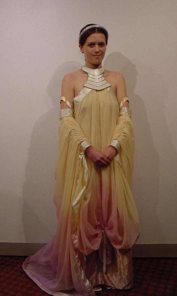 Padme\' Amidala Lake Dress | Kristy in her Padme\' Amidala lak… | Flickr