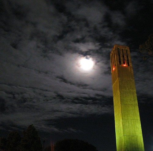 Moonrise Over UCSB | by Trent Rock's Visual Vices