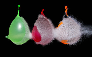 3 water baloons shot | by Mark Watson (kalimistuk)