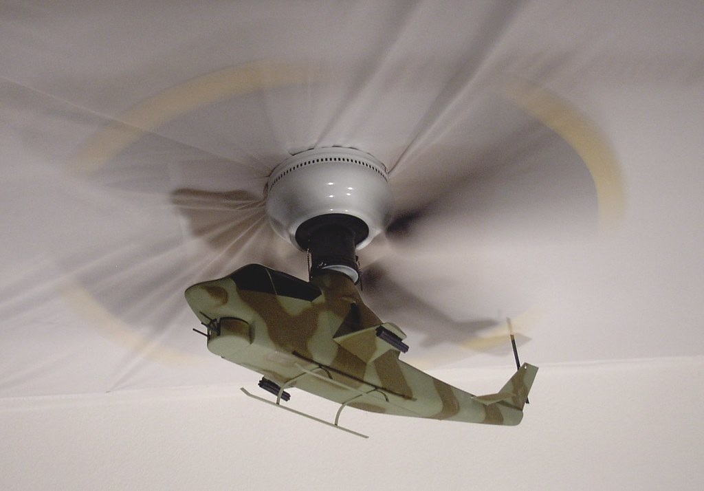 Army Cobra Helicopter Ceiling Fan My Second Helicopter