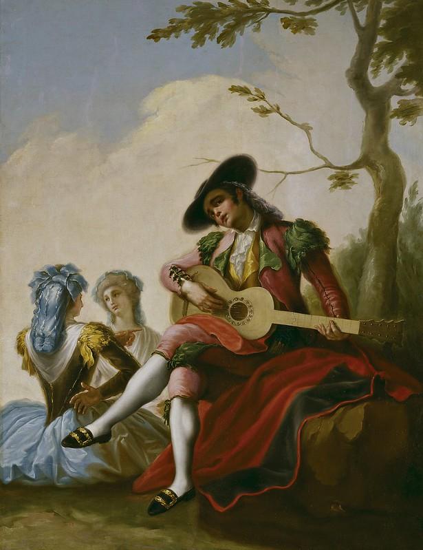 Ramón Bayeu y Subías - El majo de la guitarra (c.1778)