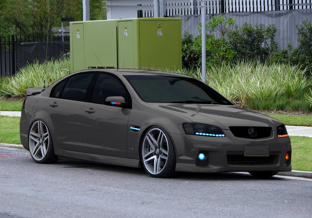 Ve Commodore Ss Series 2 Stealth 1 The Ultimate In