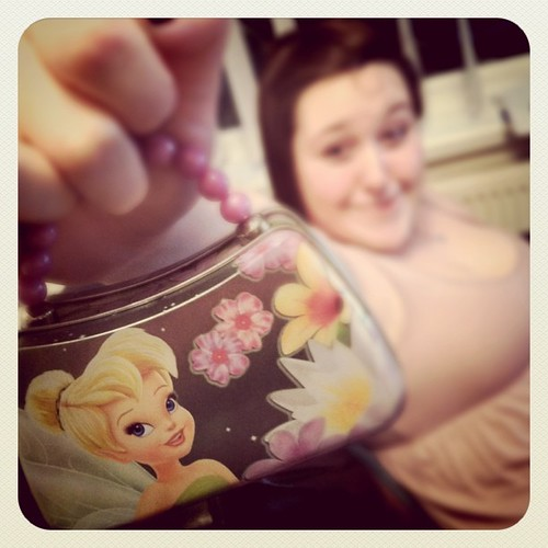 My sister has a tin tinkerbell handbag | by nicolafred
