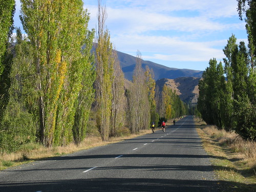 On the road to Benmore Dam