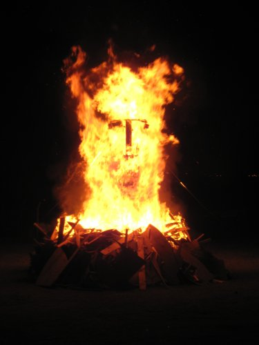 Face in the fire | Afrika Burns is a Burning Man event ...