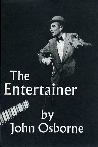essays-the entertainer john osborne The entertainer john osborne derby playhouse (2003) review by steve orme it's taken 47 years but at last derby has paid tribute to john osborne he and alan bates were members of the original repertory company in the gritty, industrial midlands town and osborne actually offered the playhouse look back in anger only to have it rejected.