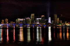 Miami Skyline | by Josh Bozarth Photography