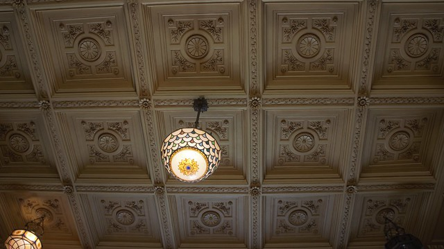 The ceiling of the Palace
