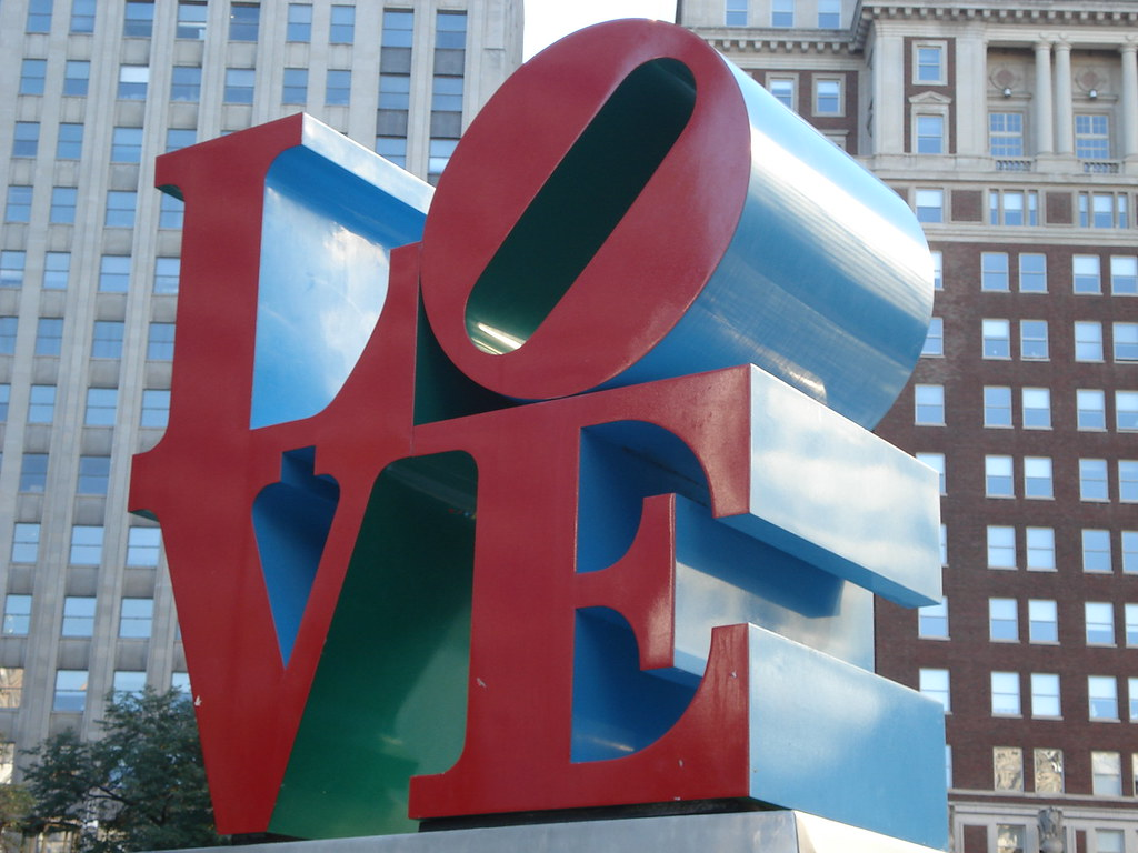 Love Park Symbol Tramjamie Flickr