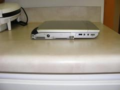 Toshiba Portege 4010 Leftside