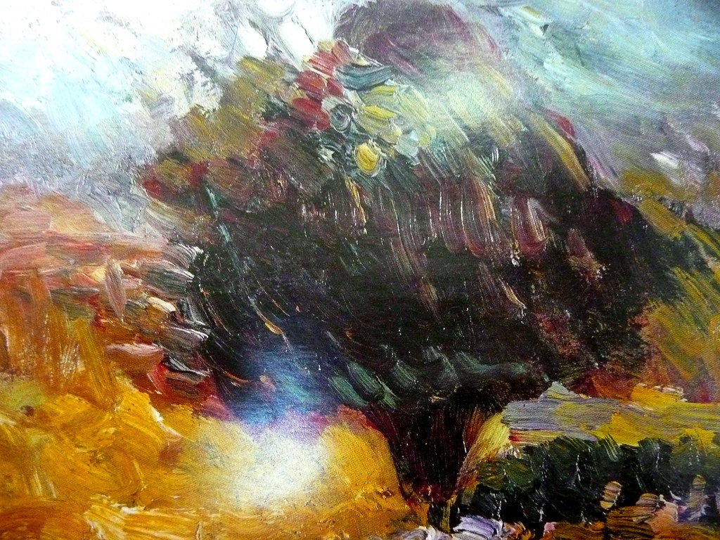 Tableau de peinture d art moderne benoit theodore flickr for Peinture moderne