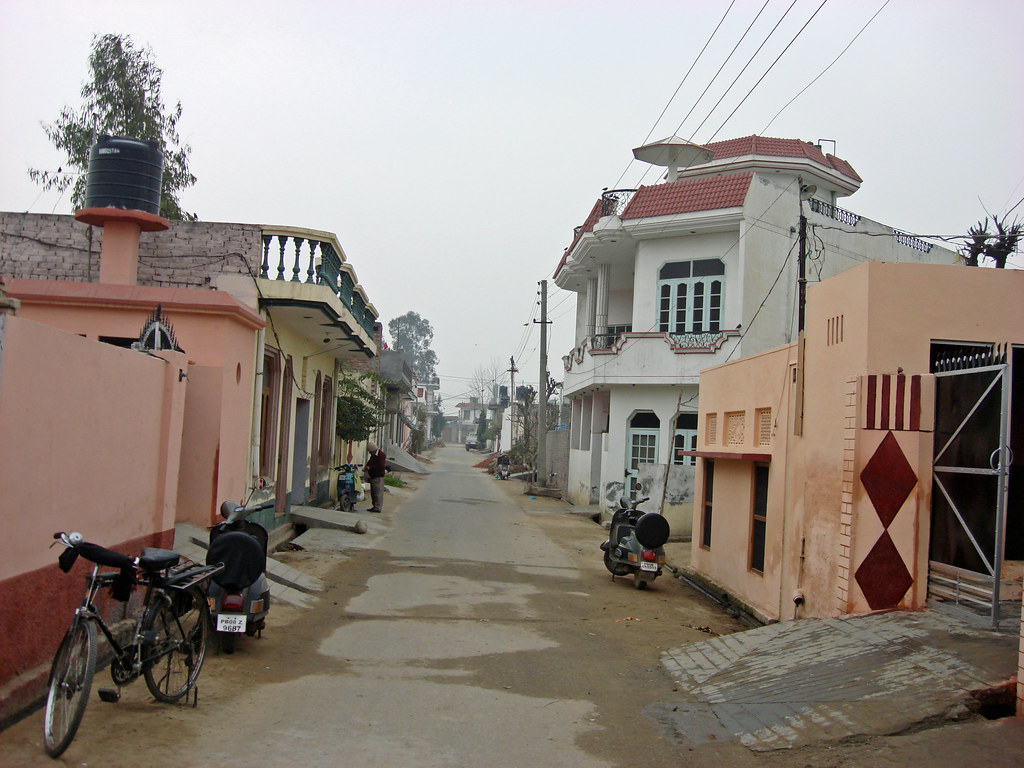 My Village Village Road Just Punjabi Flickr