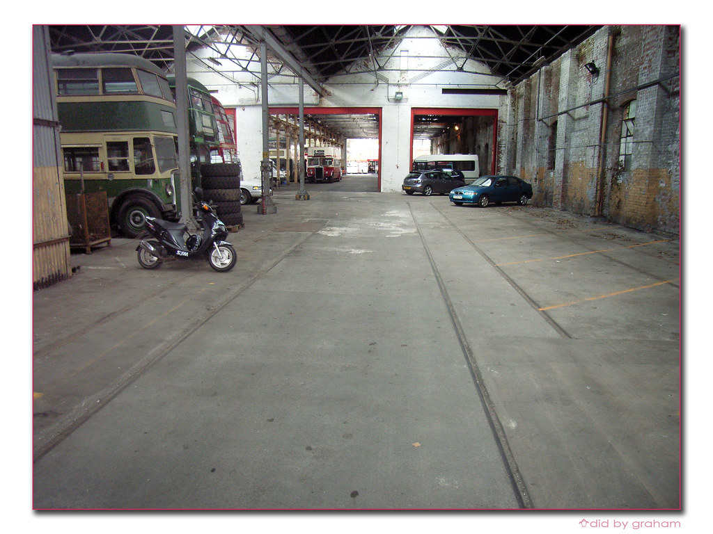 Shed >> Inside the tram shed | Plymouth Citybus Milehouse depot 13 A… | Graham Richardson | Flickr
