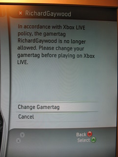 Xbox Live doesn't like my name! | by PenLlawen