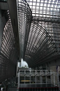 kyoto station ceiling | by Doctor Memory