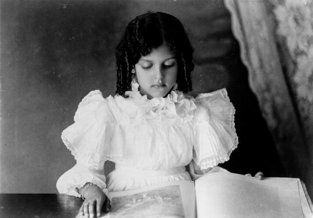 African American Girl By Unknown Photographer Ca 1899